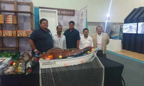 Establecen pescadores vínculos comerciales como resultado de la Expoalimentaria 2018