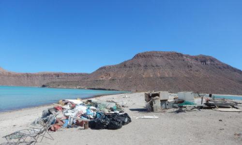 Retira CONANP campamento pesquero en La Partida por desuso